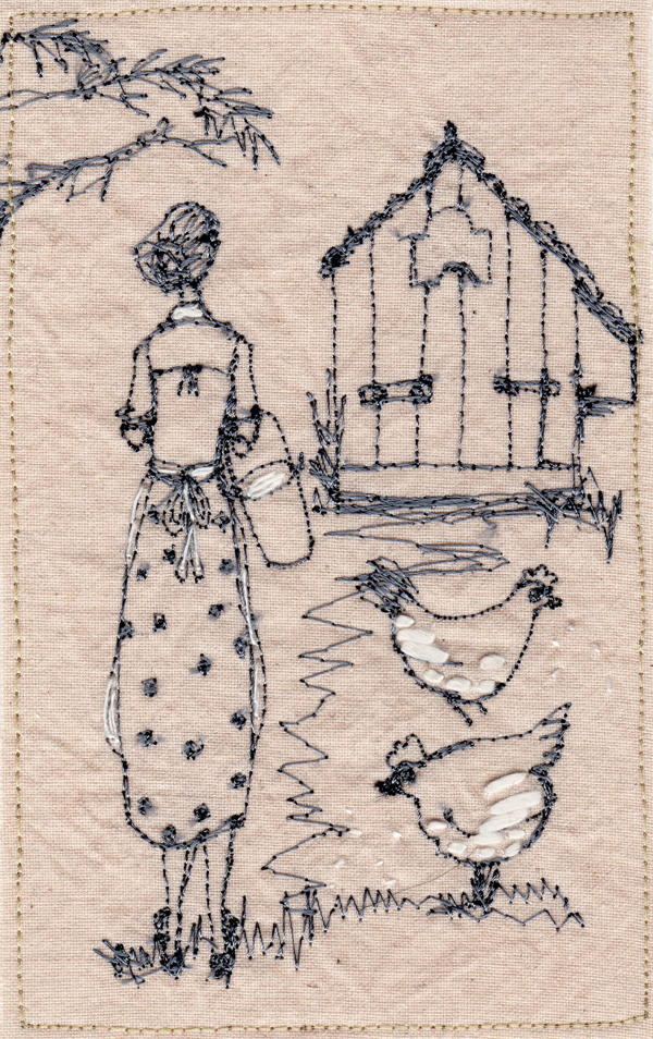 Betty Embroidery Series