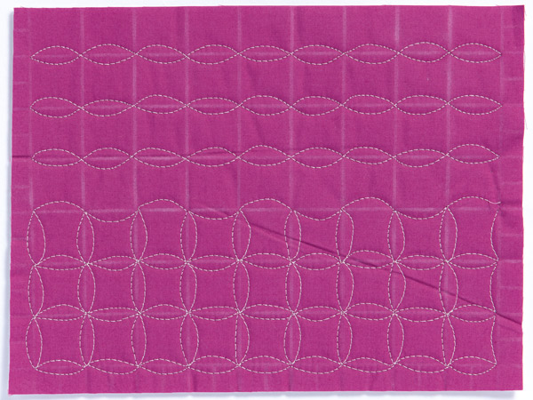 Free-Motion Quilting Sample 2