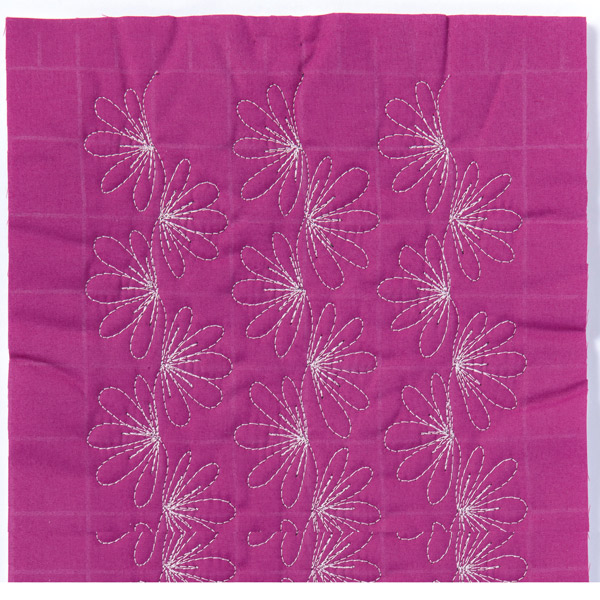 Free-Motion Quilting Sample 5