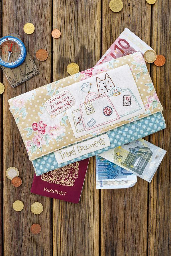 Natalie Bird Passport Folio
