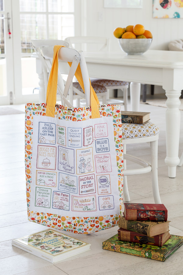 Natashia Curtin Book Bag