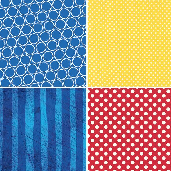 Primary Colour Fabrics 13-16