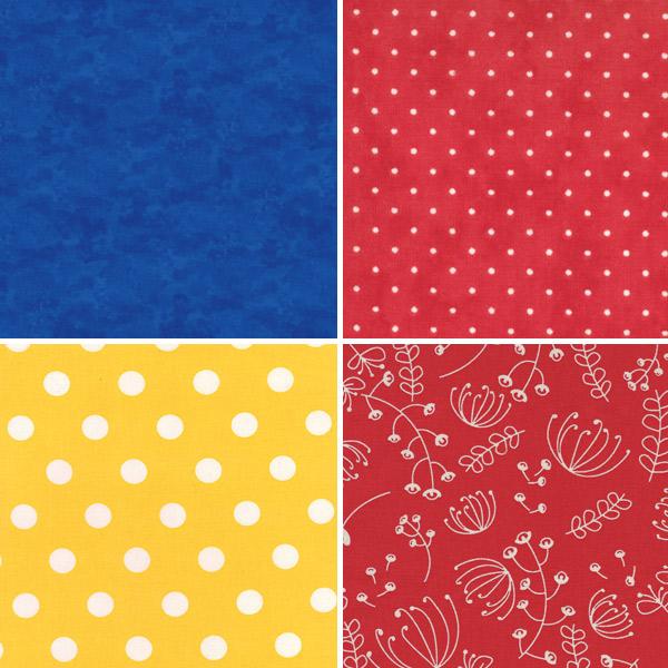 Primary Colour Fabrics 5-8