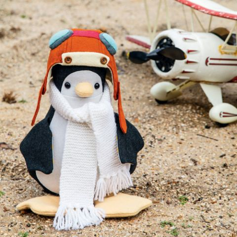 Aviator Penguin Softie