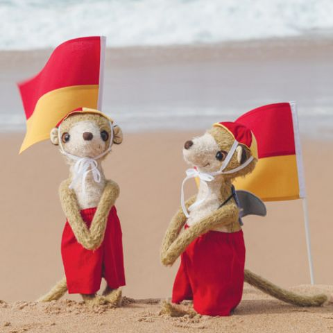 Bondi And Bronte Meerkat Softies
