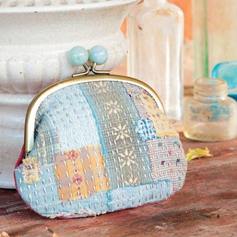 Boro-style purses