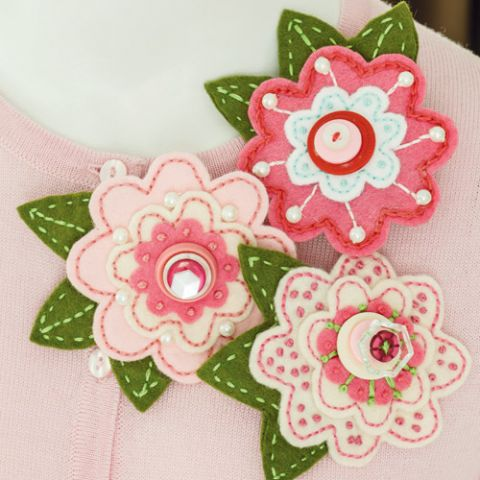 Brooches In Bloom