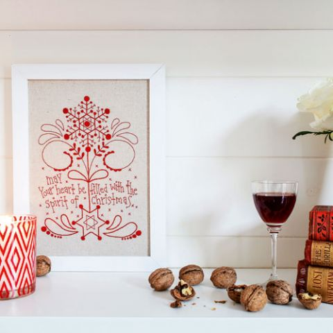 Christmas Spirit Embroidery