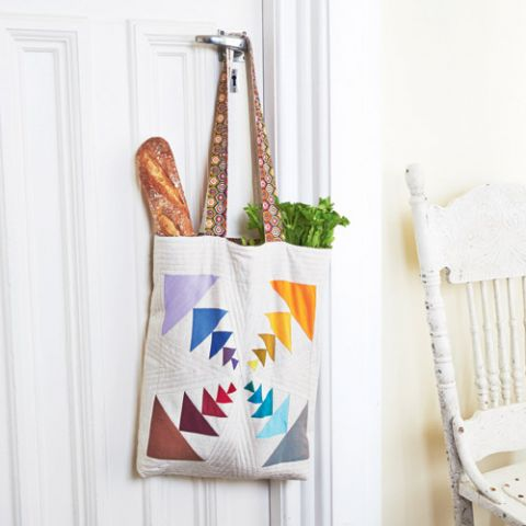 Colour And Movement Tote Bag
