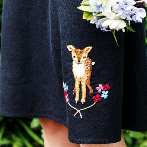 Dear O'Deer Embroidery