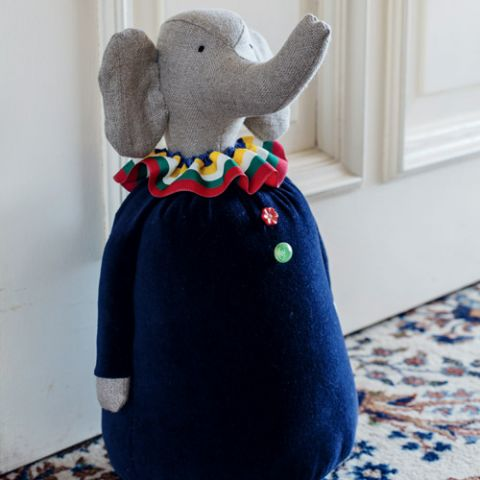 Elephant Doorman Doorstop