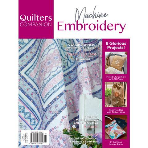 Machine Embroidery Issue 2-Magazine
