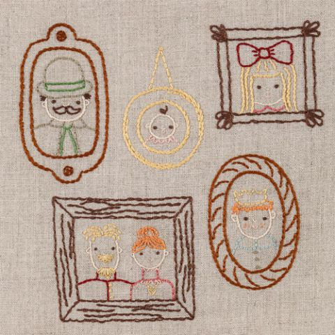 Facing The Wall Embroidery