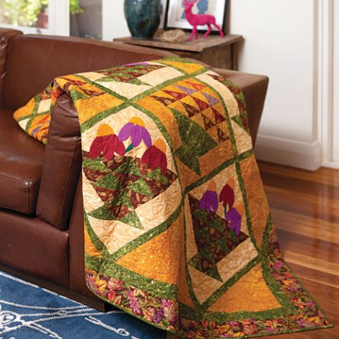 Fall Baskets Quilt