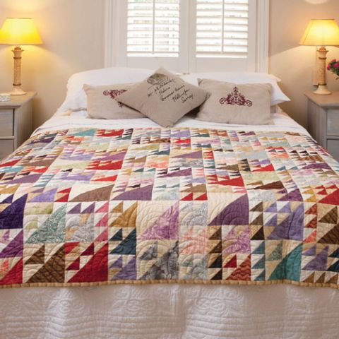 Flying Triangles Quilt