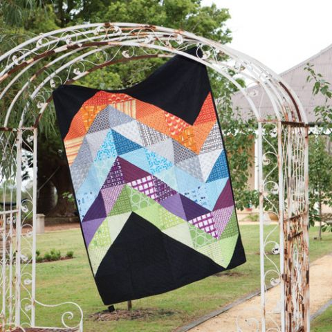 Giant Chevron Quilt