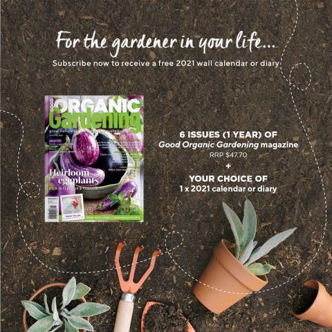 6 issues of Good Organic Gardening