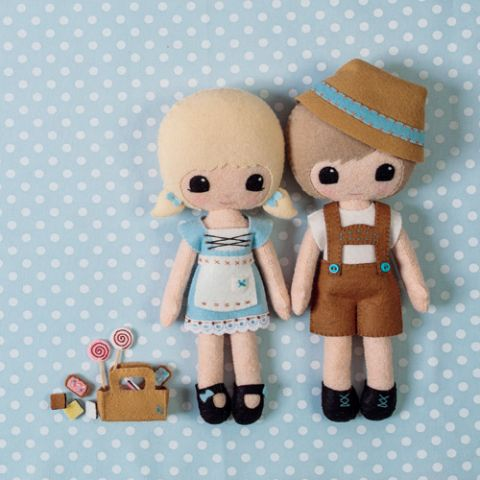 Hansel And Gretel Dolls