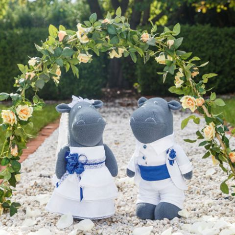 Getting Hitched Hippo Softies