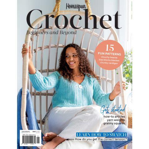 Homespun Crochet Beginners and Beyond-1-Bookazine
