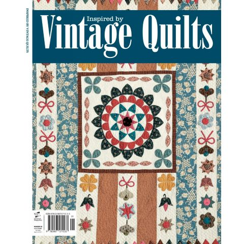Inspired by Vintage Quilts Bookazine (Pre order now)