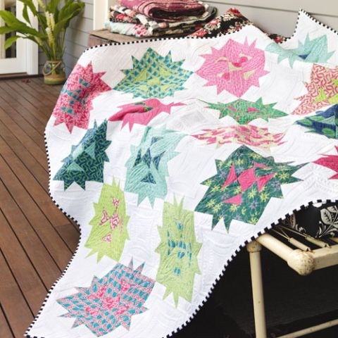 styled shot of lily quilt