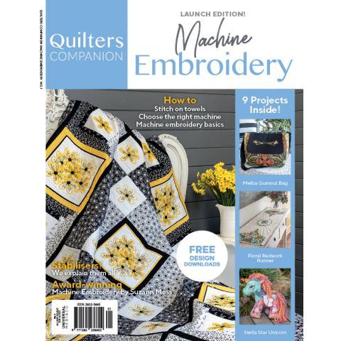 Machine Embroidery Issue 1