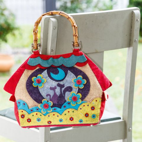 Meow At The Moon Bag