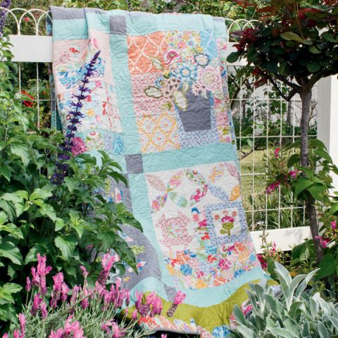 My Butterfly Patch Quilt