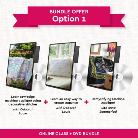 Quilting DVDs Bundle: Option 1