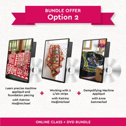 Quilting DVDs Bundle: Option 2