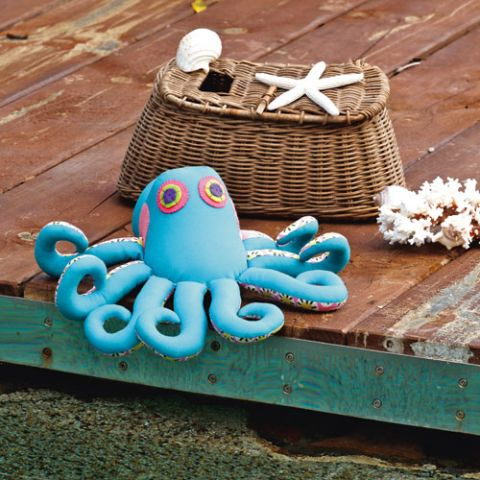 styled shot og ozzie the octopus softie