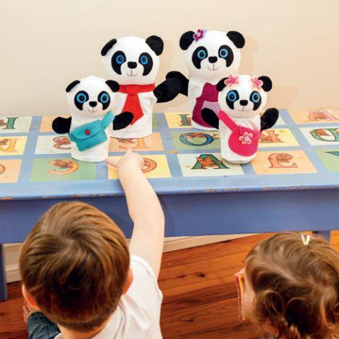 Panda Puppet Pals