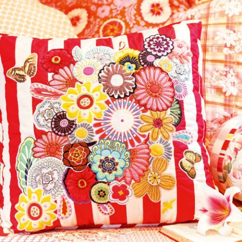 Pick of the Bunch Fussy-cut Cushion