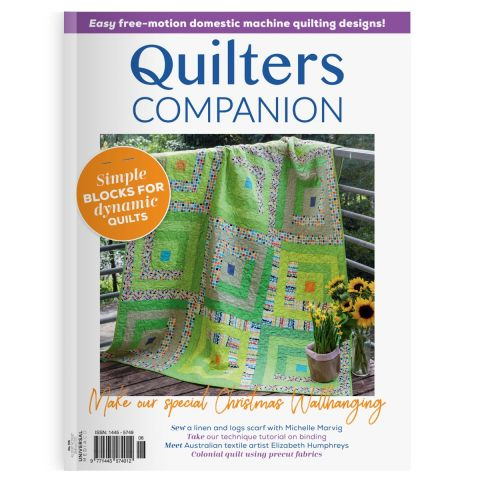 Quilters Companion Issue 105