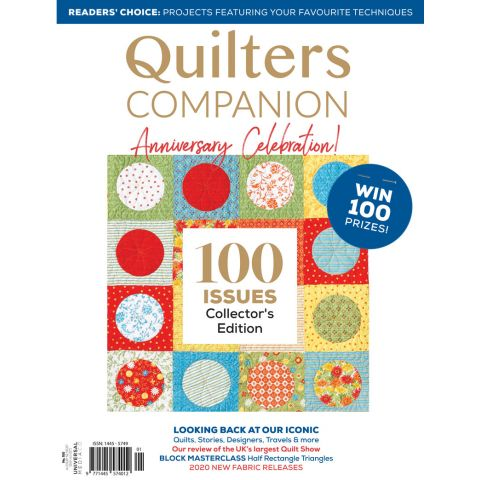 Quilters Companion Special 100th Issue