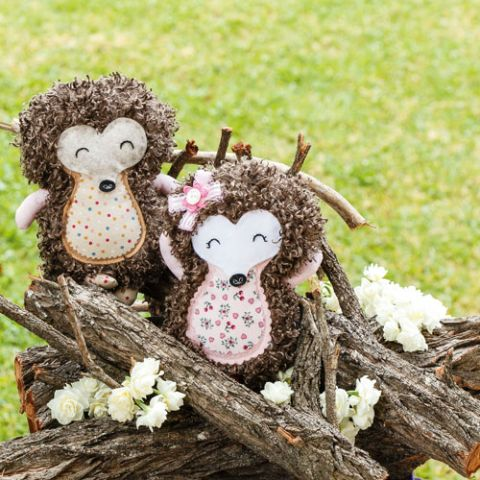 Quilliam & Holly Hedgehog Softies