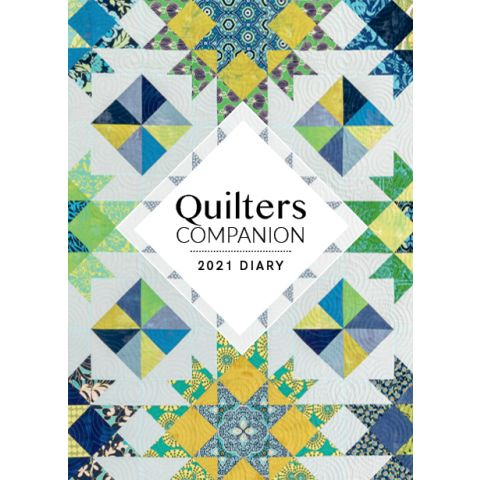 Quilters Companion 2021 Diary