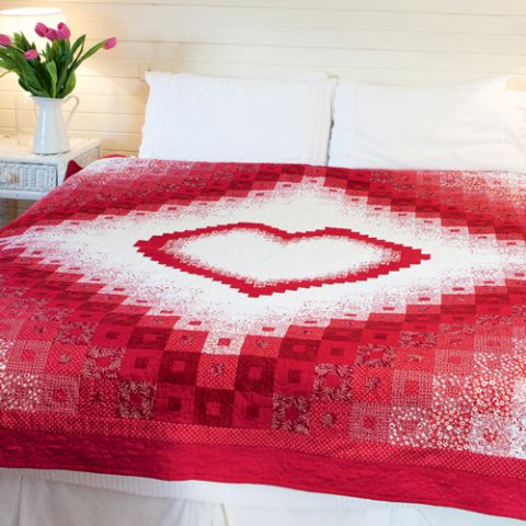 Red Heart Quilt
