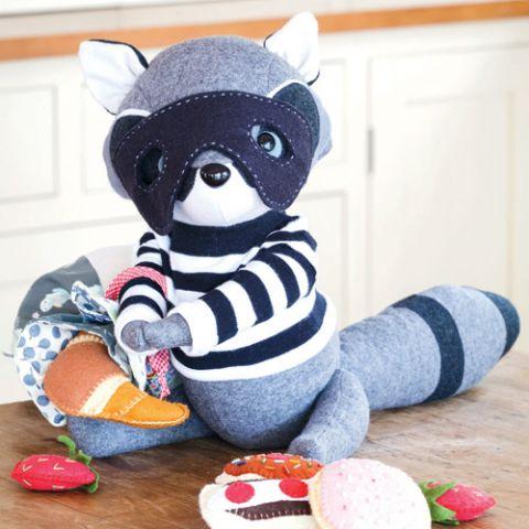Robbie The Raccoon Softie