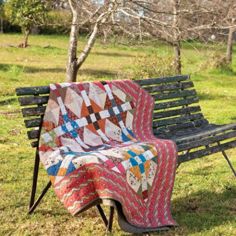 Scrappy Wrench Quilt