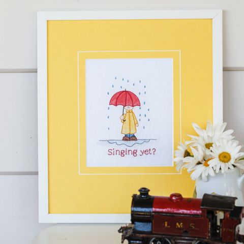 Singing Yet? Embroidery