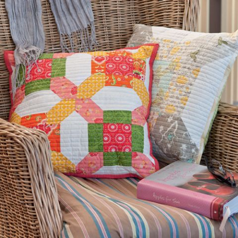 Square & Cross Cushion