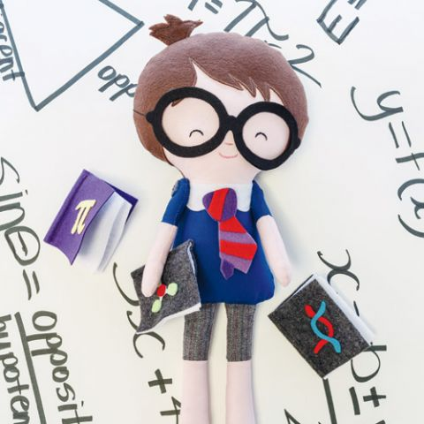 Stu Diaz Geek Doll