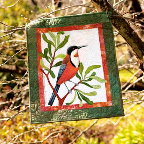 Eastern Spinebill Wall Hanging