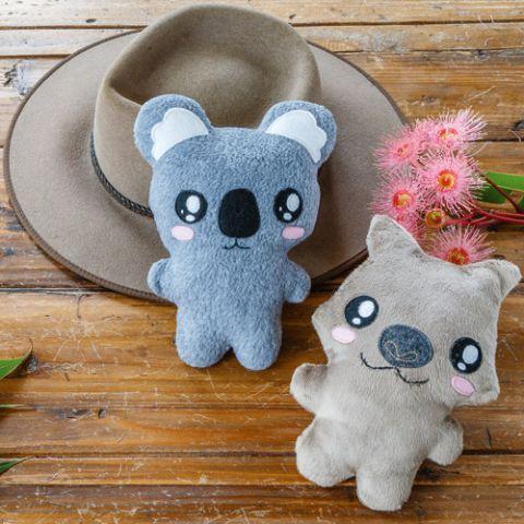 Junior League Koala & Wombat Softies