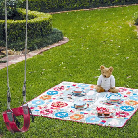 Teddy Bears Picnic Quilt