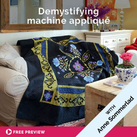 Demystifying machine appliqué
