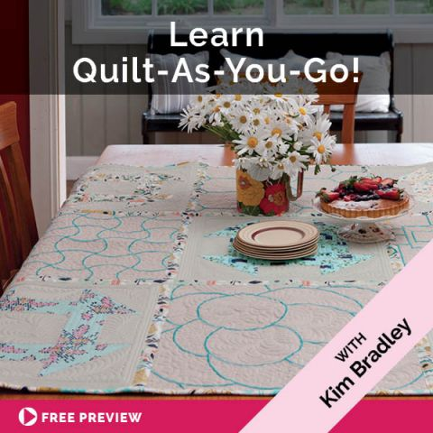 Learn Quilt-As-You-Go!