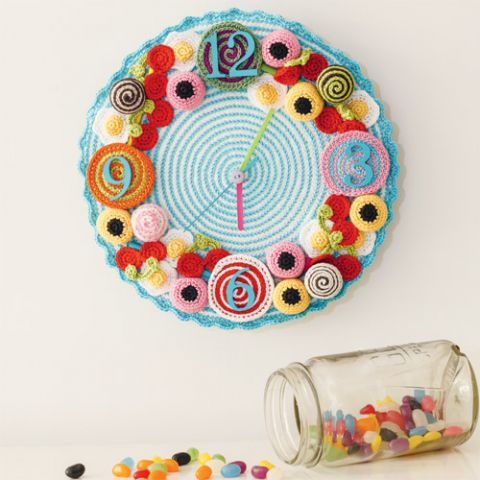Ticking Treat Bomb Crochet Clock